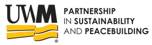 UWM Partnership Sustainability Peacebuilding LOGO