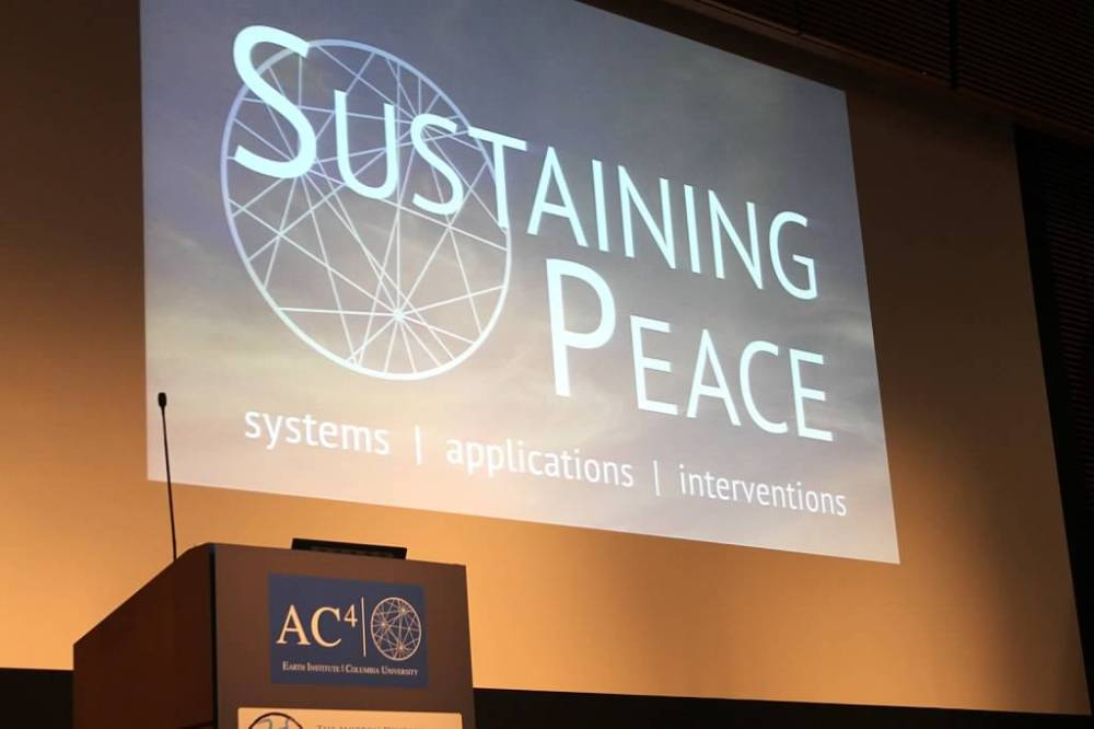 Sustaining Peace Conference 2015