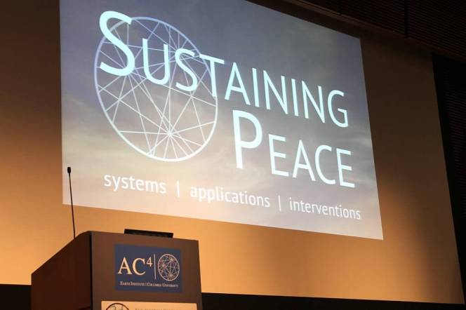 2015 Talk Series: Big Ideas on Complexity Science and SustainablePeace